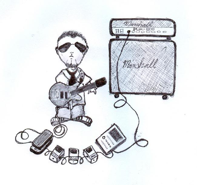 Mis dibujos de rockeros