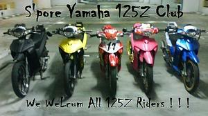 S Pore Yamaha 125z Club Tagged
